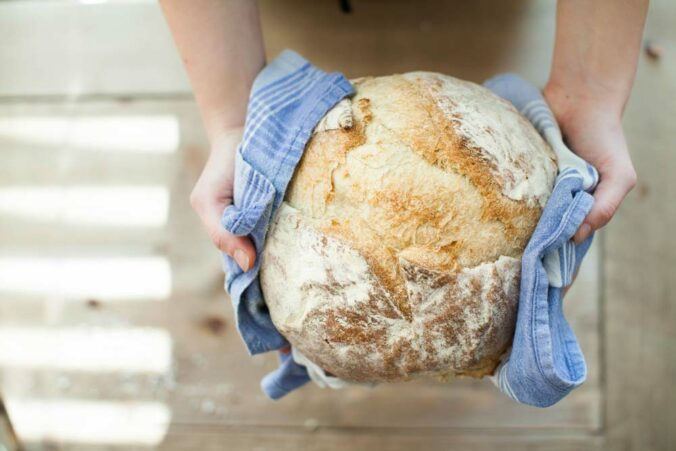 Do you deserve those carbs you're eating? Better have a big workout if you're going to devour this loaf of bread.