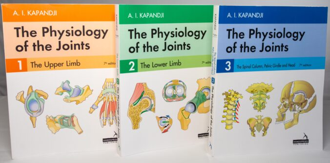 AI Kapandji - The Physiology of the Joints, Volumes 1 through 3, 7th edition